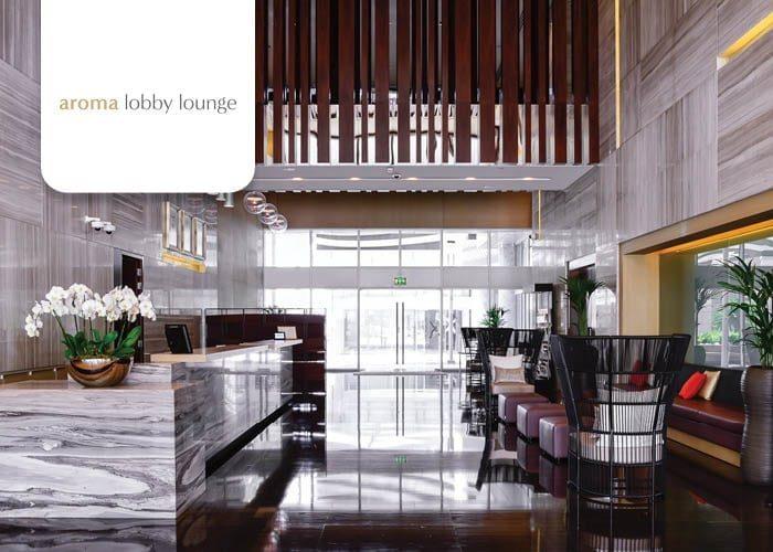 Aroma lobby lounge Capital Centre Arjaan by Rotana
