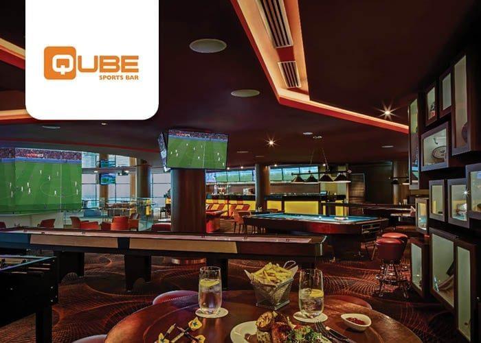 Qube Sports Bar - The Meydan Hotel