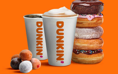 Buy one get one free at Dunkin' Donuts!