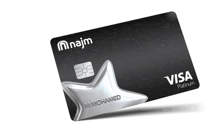 Najm Platinum Plus Card | Najm