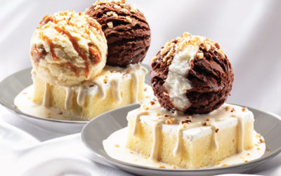 Get a free Junior Scoop Sundae when you buy the new Double Value Milk Cake Sundae from Baskin Robbins!