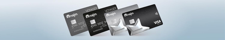 Najm Credit Cards
