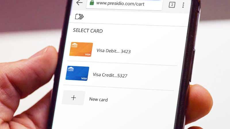 Visa Checkout Save Time