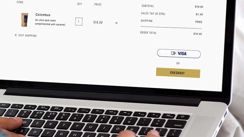 Visa Checkout Shop